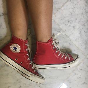 Hightop Red Converse
